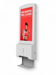 PPS - Contactless Wall Hand Sanitsing Unit with Digital Display