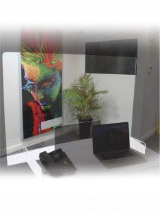 Desktop Screens for Social Distancing