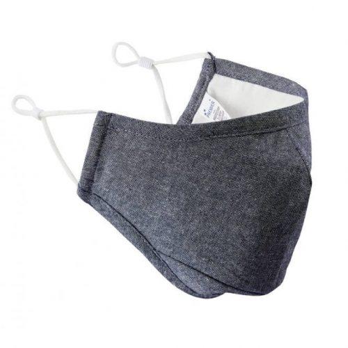 Indigo Face Mask 3 Layered Fabric - Premier Workwear