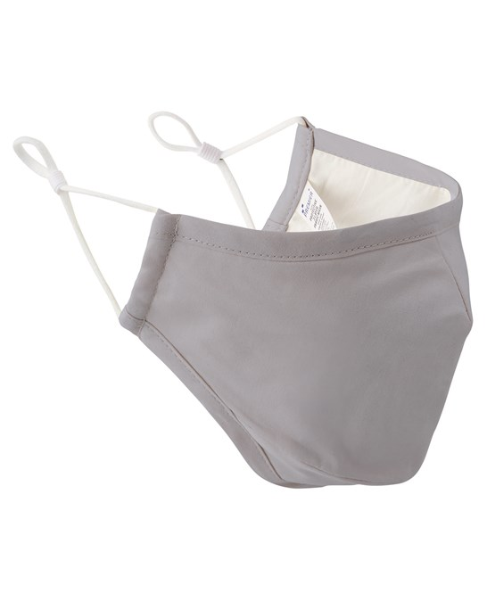 Silver Face Mask 3 Layered Fabric - Premier Workwear